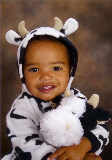 Jack in Cow Costume