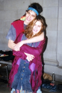 Max & Robyn in Hair (February 1996)