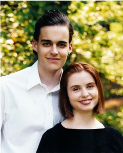 Engagement Photo (September 2001)