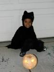 Jack and his alien bat pumpkin