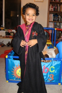 Jackson as Harry Potter