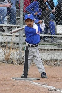 Jackson in his first at-bat