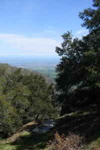 Mt. Diablo: The other side of the summit