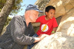Mt. Diablo: Grandpa & Jack in the Wind Caves