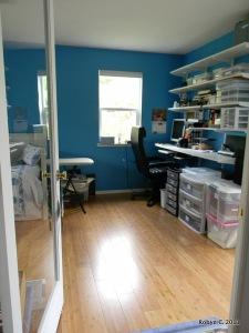 Doorway into the office