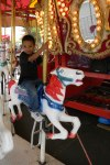 Jack on the carousel