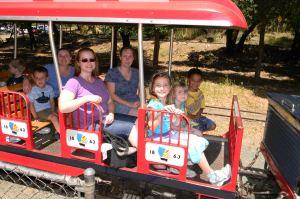Sabrina & son, Robyn & Christy, Caitlyn & Anika & Jack