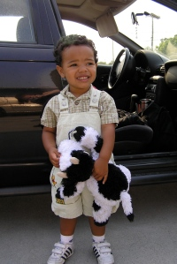 Jackson's First Day of School