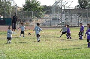 Jackson Playing Goalie