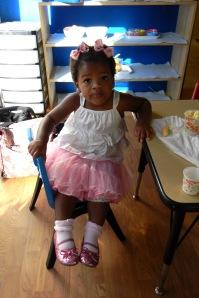 Cassie at preschool