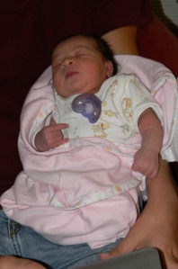 Baby Cassie Asleep