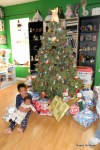 Jackson and Cassie with the Tree