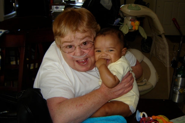 Nana and Jackson (June 5, 2006)