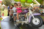 Jackson and Sami on the Motorcycles