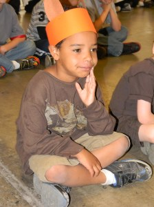Jackson as a Brown Fox for the Last Day of School Play