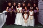 Bridal Party: Jessica, Penny, Robyn, Ann, Kari, Anna, Katie S., Jennifer S. (Images by Meredith Theodore)