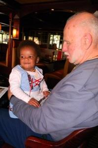 Cassie and Grandpa Bob