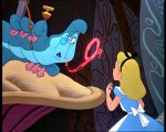 Alice in Wonderland with the Caterpillar