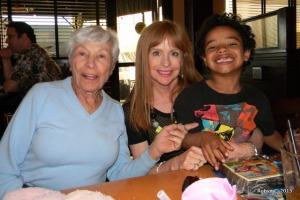 Great-Grandma, Aunt Carol, Jackson