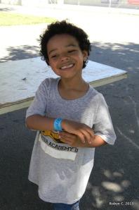 Jackson smiling