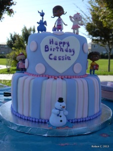 Doc McStuffins Cake by Cakes by Jen