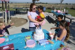 Singing Happy Birthday to Cassie
