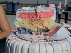 Inside of the cake