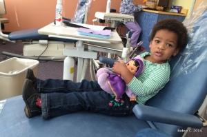 Cassie's dentist visit