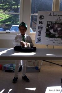 Jackson on County Presentation Day