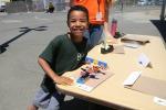 Jackson and his prize-winning Legos