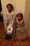 Jackson Ghost and Princess Tiana Cassie
