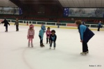 Cassie ice skating