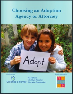 Creating a Family Guide to Choosing an Adoption Agency or Attorney Cover