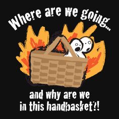 Where are we going and why are we in this hand basket?