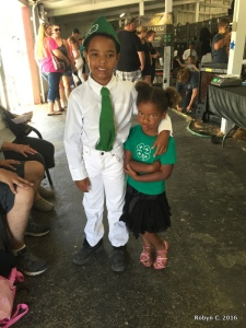 Jackson and Cassie at the Fair