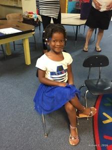 Cassie's preschool graduation