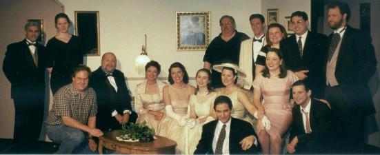 The cast of The Philadelphia Story