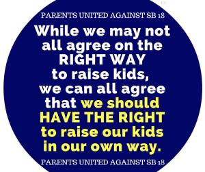 While we may not all agree on the right way to raise kids, we can all agree that we should have the right to raise kids in our own way.