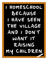 It's Not AboutHomeschooling