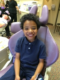 Another trip to the orthodontist - braces off!